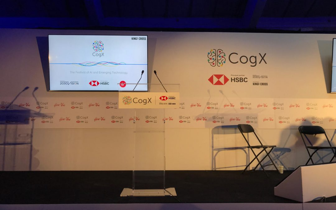 Coffee, Data & CogX – what's everyone talking about?